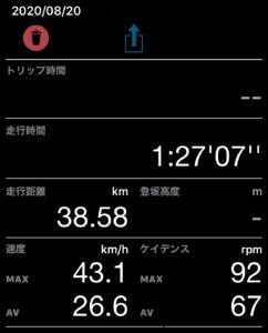 Cateye Cycling Data